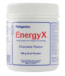 Energyx Chocolate 200 G Powder From Metagenics