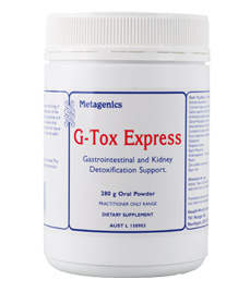 G Tox Express 280 G From Metagenics