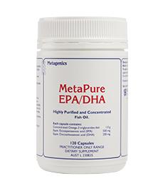 Metapure Epa Dha 120 Capsules From Metagenics