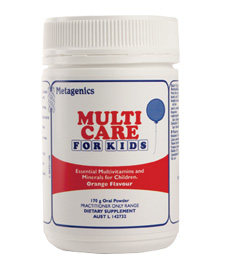 Multi Care For Kids 170 G Powder From Metagenics