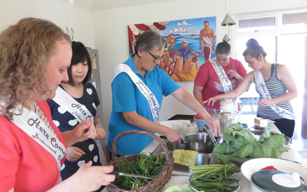 Organic Vegetarian Cooking Classes By Julias Herbal Health Marlborough NZ