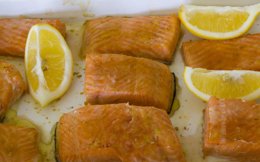 Fried Salmon Recipe - Julia's Herbal Health
