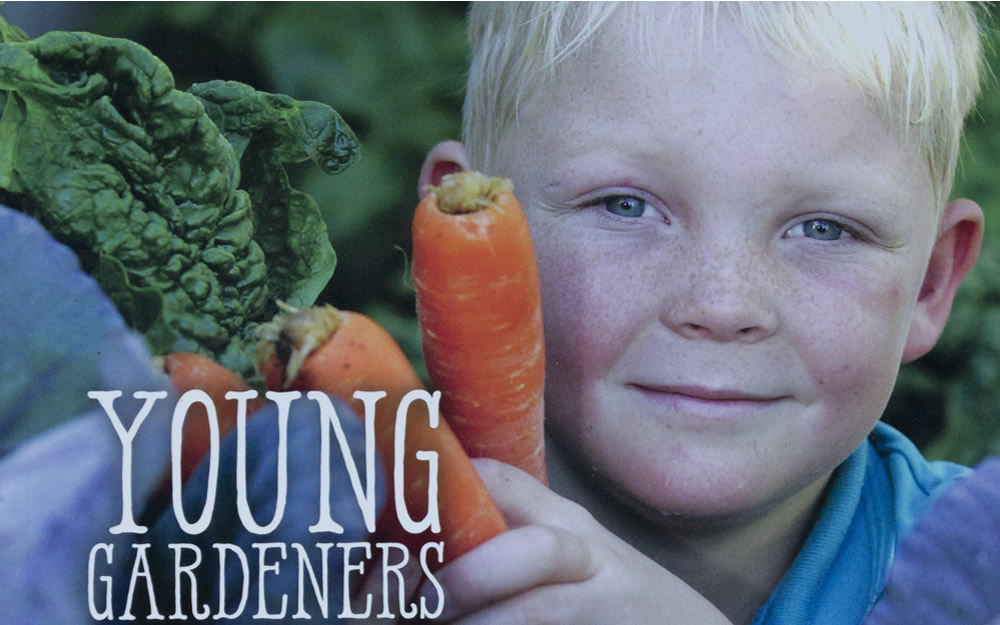 Fundraising for 'Young Gardeners Growing Chefs' Book